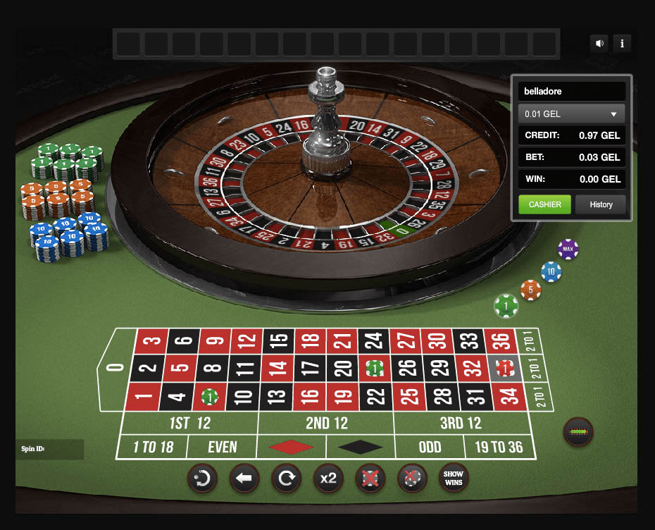 play roulette